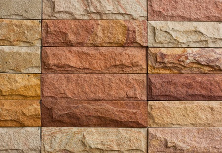 Close up brick-wall for use texture or background 스톡 사진