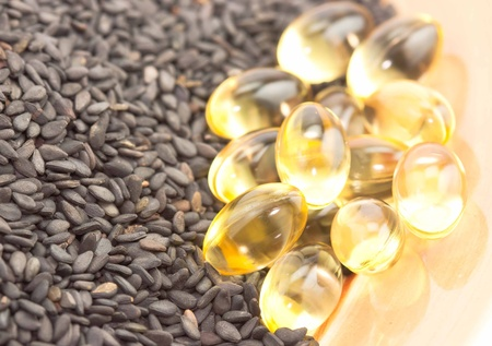 herbal medicine oil pills withPoppy seed