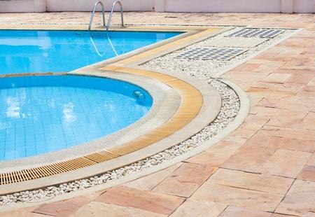 Hotel swimming pool photo