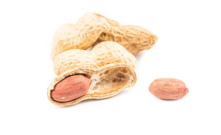 groundnuts isolated