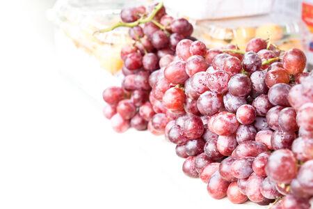 concord grape: grapes in market