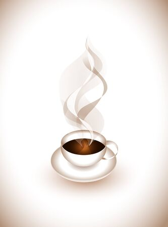 espresso cup: Cup of coffee