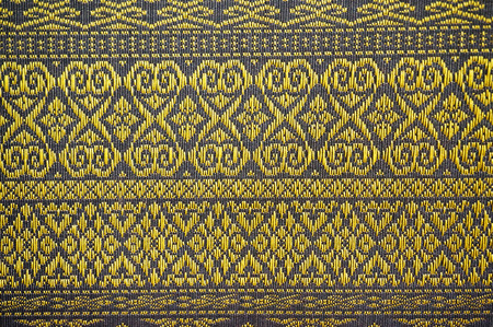 Fabric from Laos, a simple pattern is holizontal line and there are no flashy colors.                                 Stock fotó