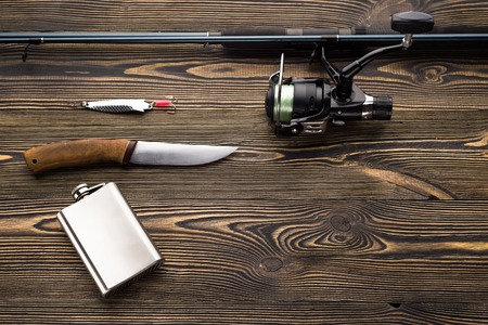 stocked: Go fishing, concept