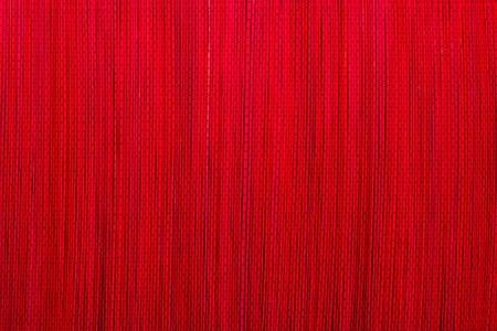 赤い竹マット テクスチャや背景