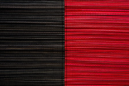 Red and black bamboo mat texture or background Zdjęcie Seryjne