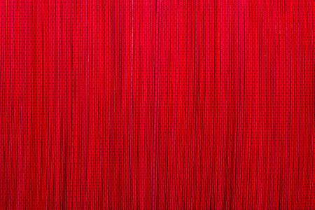 Rode bamboe mat textuur of achtergrond