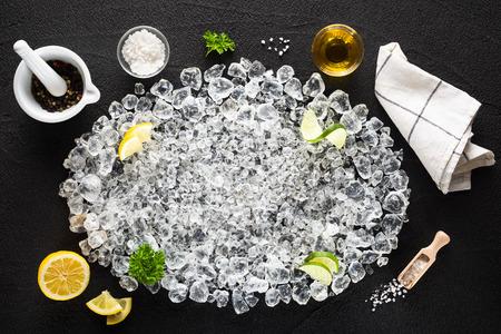 ice crushed: Ingrediënten en crushed ijs op zwarte lijst