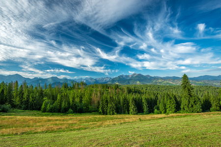 Landscape, Tatra Mountains, Poland Zdjęcie Seryjne