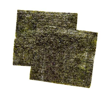 海苔は、白い背景で隔離