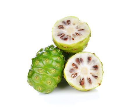 Exotic Fruit - Noni on white background