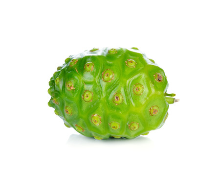 Exotic Fruit - Noni on white background photo