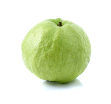 guava fruit: guava fruit on white background