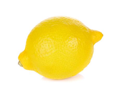 lemon: Lemon isolated on white background Stock Photo