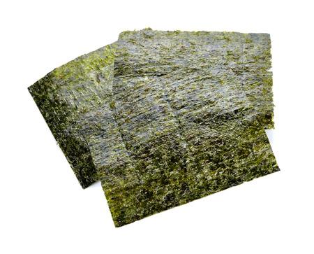 nori: Nori sheets isolated on white background