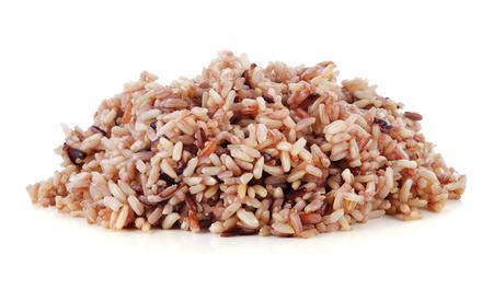 分離された白の玄米