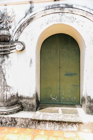wang: Architectural details of Phra Nakhon Khiri Historical Park (Khao Wang), Phetchaburi (Thailand)