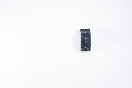 Circuit Breakers with white background