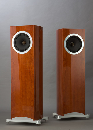 hi fi: Hi-Fi Stand Speaker Nature Wood