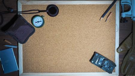 cork board: cork board blank