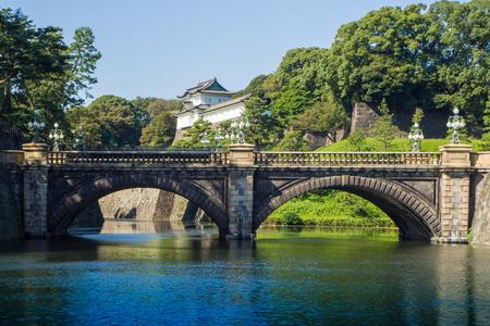 Tokyo Imperial Palace ,Tokyo Imperial Palace and the Seimon Ishibashi bridge : 26 OCTOBER 2017 Editorial