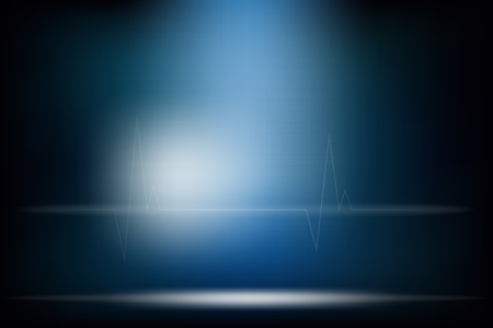 A medical abstract background dark tone & mood design.
