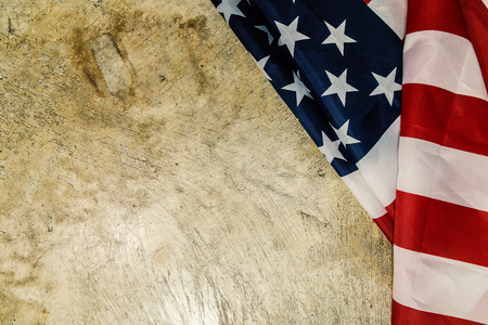 The  united states of America flag abstract background. Banco de Imagens