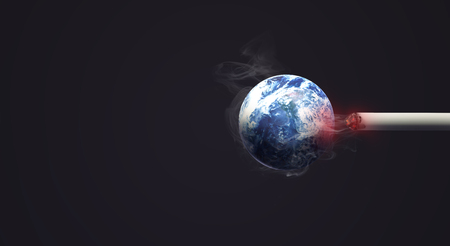 3d rendering world no tobacco day  image background. Reklamní fotografie