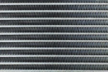 Klimatyzacja Cewki samochód z bliska tekstury obrazu. Zdjęcie Seryjne