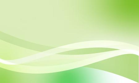 El contenido moderno del eco de la naturaleza del vector verde abstracto. Ilustración de vector