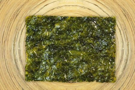 The seaweed korean sheet image for food concept
