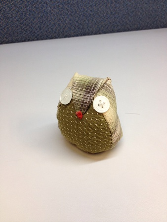 doll: Hand made owl doll