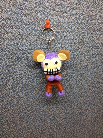 keychain: Mouse doll keychain