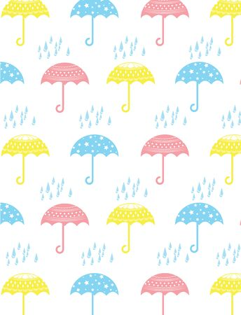 umbrella for background Vector
