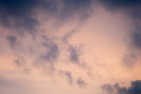 abstract of sky after sunset  photo