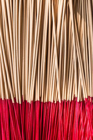 joss sticks use for respect the image of sacred in Asia  photo