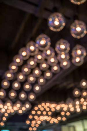 lamp light: Abstract lamp light bokeh