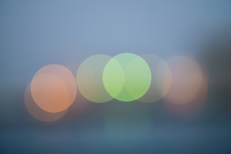 Abstract colorful light bokeh for background Stock Photo