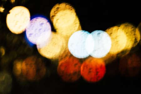 Bokeh light vintage background