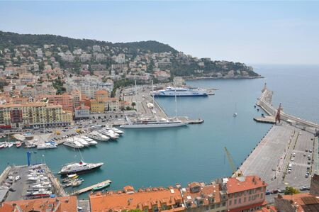 riviera: Port of Nice French Riviera France
