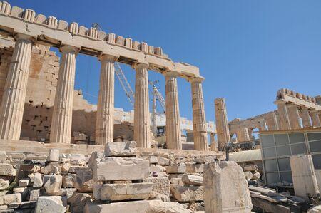 acropolis: Parthenon at Acropolis, Athens, Greece