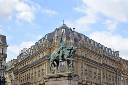 george washington: George Washington statue, Paris, France Editorial