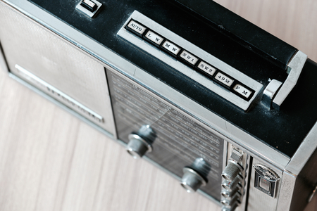 transistor: Sanyo Transworld shortwave multi band transistor radio is one of collector-wanted vintage radio.