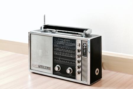shortwave: Sanyo Transworld shortwave multi band transistor radio is one of collector-wanted vintage radio.