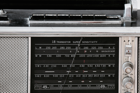 transitor: Vintage radio de transistores m�ltiples banda de onda corta