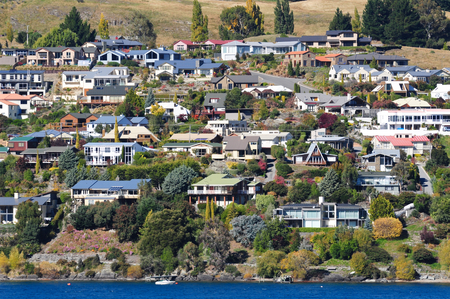 Queenstown by lake Wakatipu, New Zealand