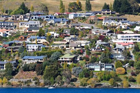 Queenstown by lake Wakatipu, New Zealand