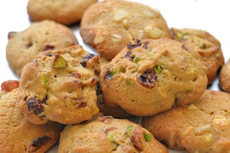 Homemade cookies - Cranberry pistachio and white chocolate macadamia