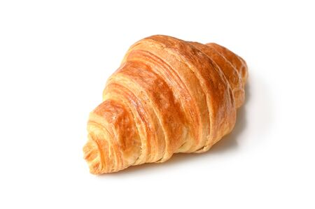 Croissant on white background - isolated