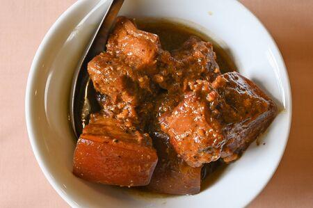 Pork stew, Phuket style, Thailand